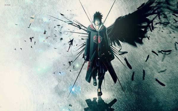 wallpaper sasuke uchiha shippuden