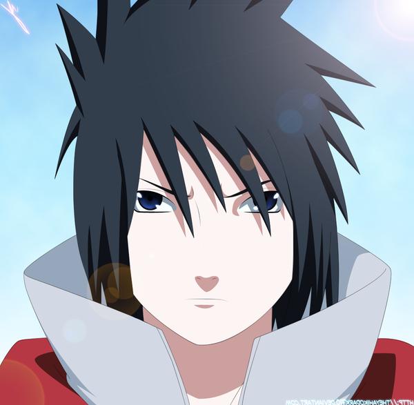 naruto tailed beast mode vs sasuke