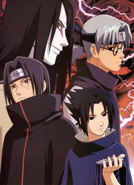 what episode does sasuke fight danzo