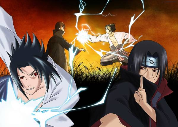 naruto shippuden sasuke vs itachi episode 135